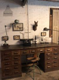 Lang, uniek bureau hoog, jaren 20 (138628) verkocht