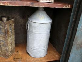 Zinken olievat (131971) verkocht
