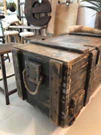 Oude unieke kist XL (137959)...verkocht