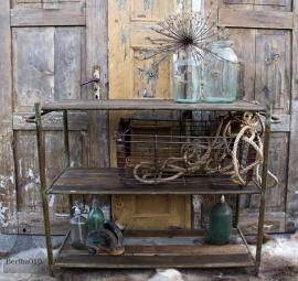 Oud industrieel rek (131597) verkocht