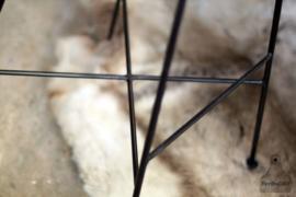 Barkruk rotan zwart (135033)