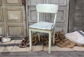 Brocante stoel (132011)..verkocht