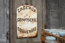 Oud geleefd reclamebord (131781)..verkocht