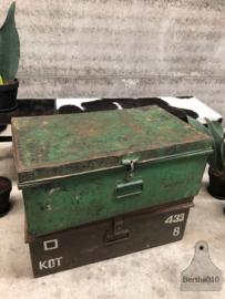 Kist ijzer groen (144086)
