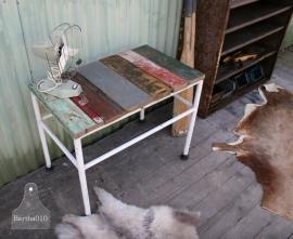Sloophouten tafel (130545)..verkocht