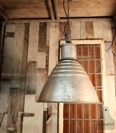 Industriële (hang) fabriekslampen  (130882) verkocht