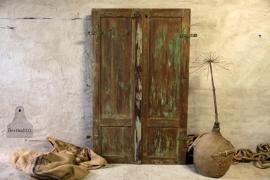 Oude geleefde  luiken (132150)..verkocht