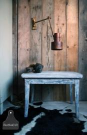 Oud landelijke tafel grijs (130133)..verkocht