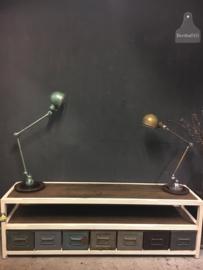 Jieldelamp 2 armen (135718)..verkocht