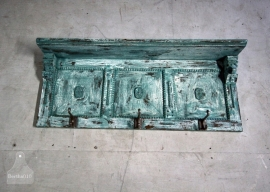 Turquoise kapstok (130739)