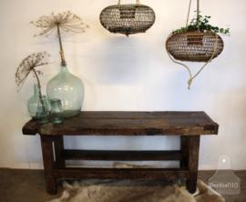 Oude houten werkbank (134936).....verkocht