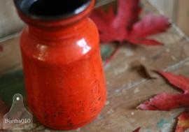 Vintage vaas rood (130088)
