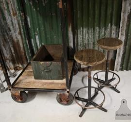 Industriele kruk (130746, 130747) verkocht