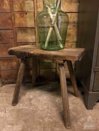 Oud krukje hout (138760)