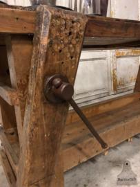 Oude werkbank (143732) verkocht