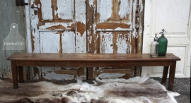Oude houten bank  (131514) verkocht