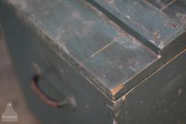 Oude verzendkist op wielen (136543) verkocht
