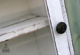Geleefd vitrinekastje (130645)...verkocht