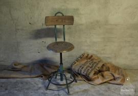 Industriële stoel (132426)..verkocht