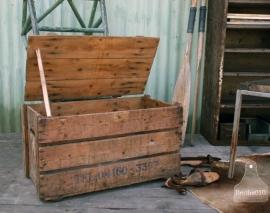 Oude eierkist (130537)..verkocht
