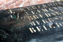 Antieke ijzeren opbergkist (135990)...verkocht