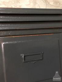 Unieke locker antraciet (143357) verkocht