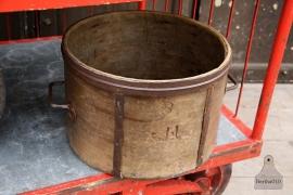 Oude houten ronde bak (131942) verkocht