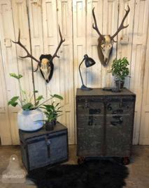Oude koffer op wieltjes (140872) verkocht