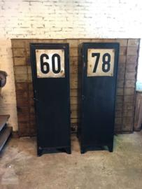 Oude fabriekslocker (138549) (138550) verkocht