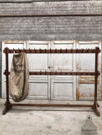 Grote antieke schoolkapstok (144102) verkocht