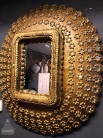 Grote Peacock spiegel (141801)