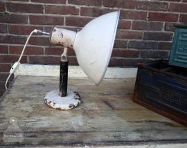 Oude DDR bureaulamp (130805)..verkocht