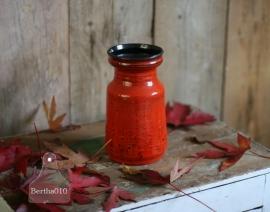 Vintage vaas rood (130088) verkocht