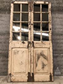 Oude spiegeldeur (144054) verkocht