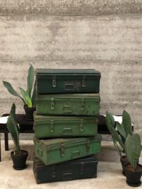 Kisten ijzer groen (144078)