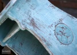 Geleefd bijzettafeltje (130513)..verkocht
