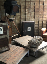 Oude theaterlamp XXL (137431) verkocht
