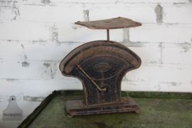 Oude industriële weegschaal (134533)..verkocht