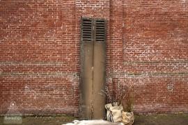 Robuust luik, 2 deurs (131923)..verkocht