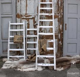 Brocante houten ladder (131380) verkocht