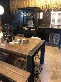 Oude jaren 20  winkel vitrinekast (138751)