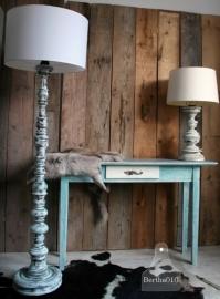 Turquoise staande lamp (101115)...verkocht