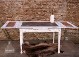 Grote antieke uitklaptafel (130342)..verkocht