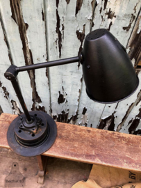 Bureaulamp zwart (136878)
