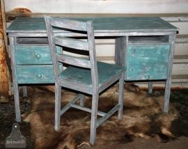Landelijke bureaustoel (101139)..verkocht