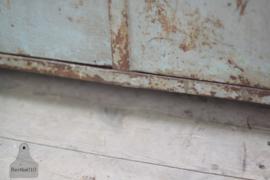 Unieke industriële kast van ijzer (133780)...verkocht
