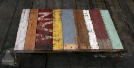 Sloophouten salontafel (130642)..verkocht