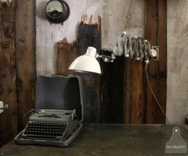 Oude industriële schaarlamp (131069)..verkocht