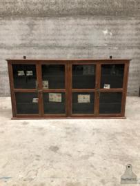 Smalle hang vitrinekast (144037) verkocht