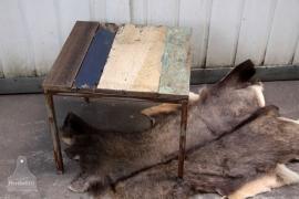 Sloophouten tafeltje (132504)..verkocht